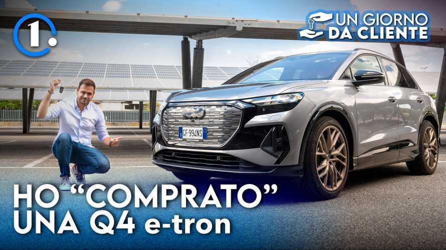 Audi Q4 e-tron, un giorno da cliente del SUV elettrico