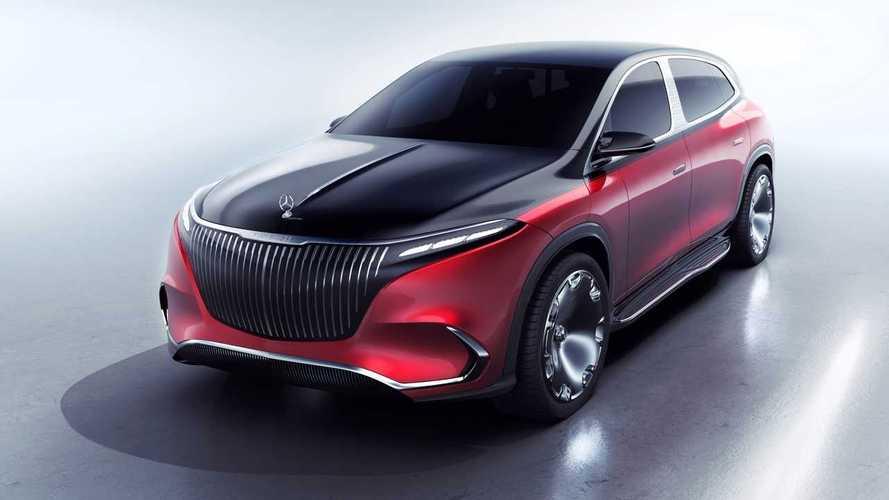 Mercedes–Maybach представил свой EQS. Это премиальный кроссовер