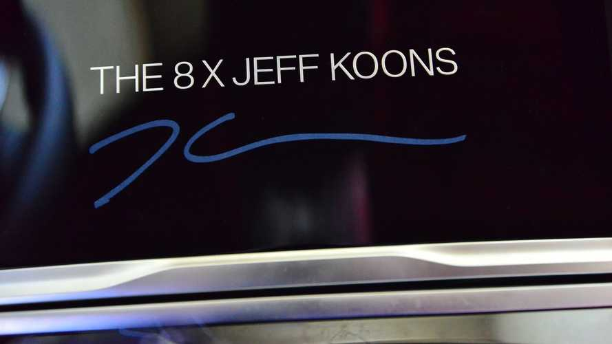 BMW teases another Jeff Koons art car, an 8 Series Gran Coupe