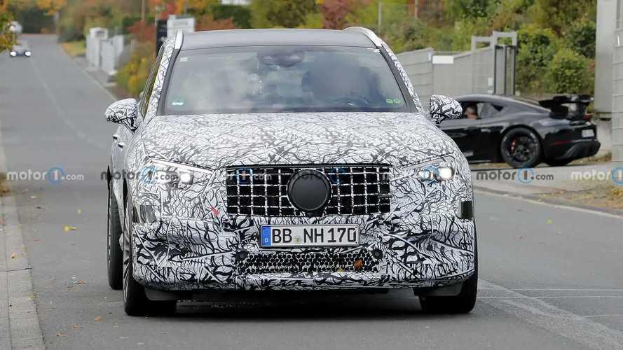 2023 Mercedes-AMG GLC 43 spy photos