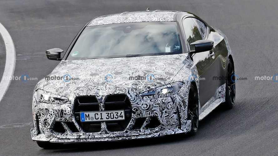 BMW M4 CSL, Nürburgring testleri esnasında görüntülendi