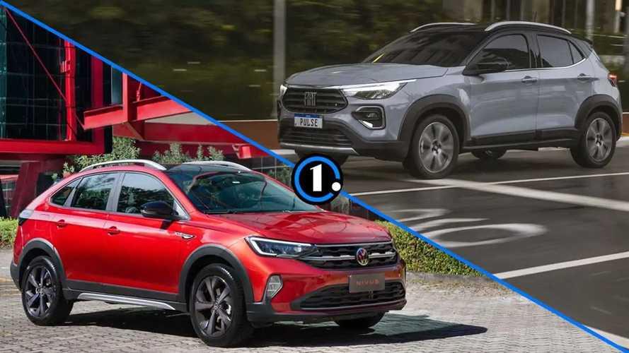 Pulse ou Nivus: como o SUV da Fiat se compara ao rival da VW?