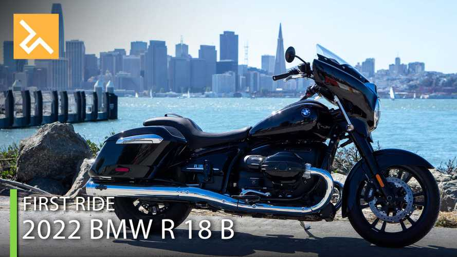 2022 BMW R 18 B First Ride Review: A Tour(ing) De Force