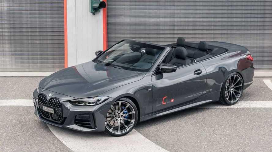 BMW M440i Cabriolet Makin Keren dan Kuat oleh Dahler Competition