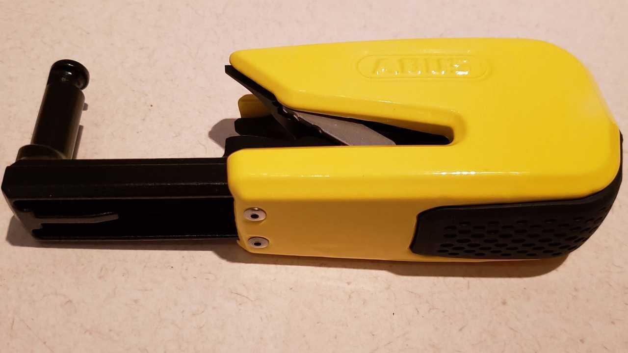 ABUS Granit Detecto SmartX Lock - Open, On Side