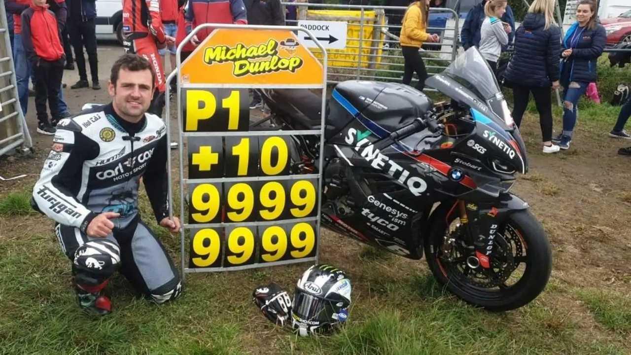 Michael Dunlop 2021 Armoy Road Races