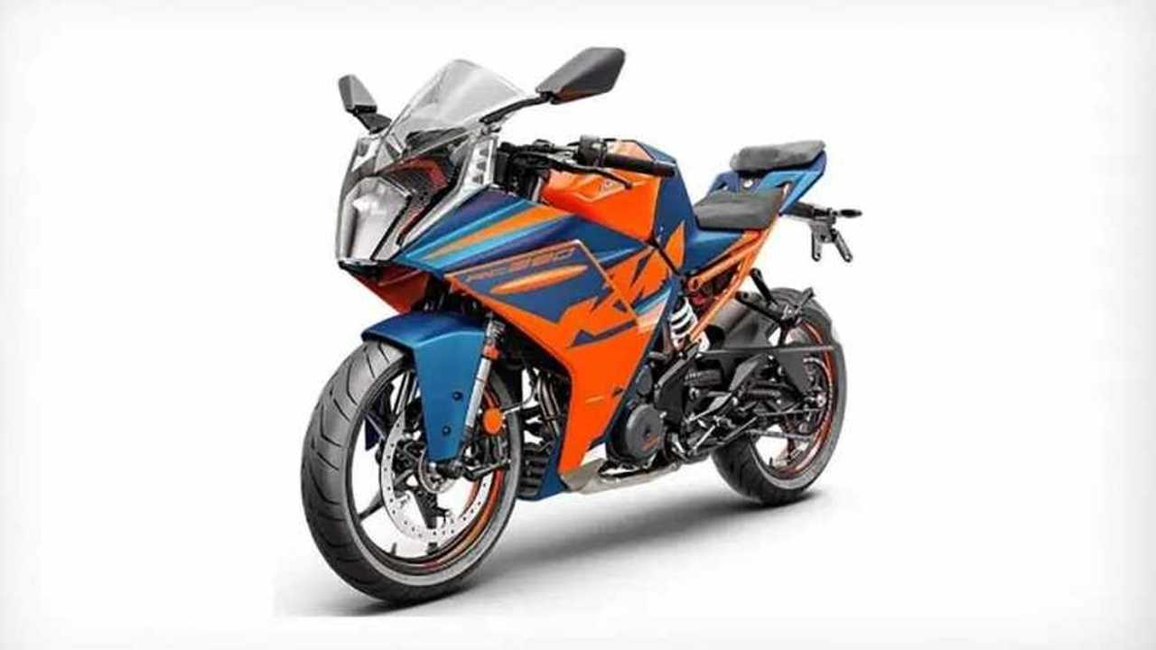 KTM 2022 RC 390 - Front, Right