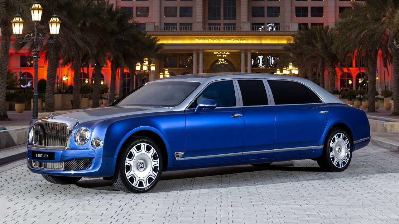 Diese Langversion des Bentley Mulsanne existiert in den VAE