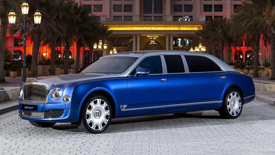 Bentley Mulsanne Grand Limousine: Nie benutzte Langversion