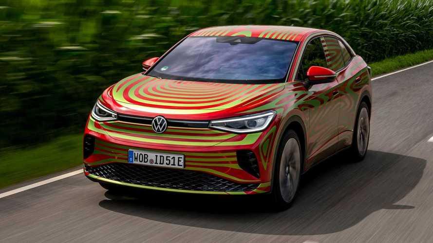 VW zeigt ID.5 GTX auf der IAA – aber nur mit Tarnfolie