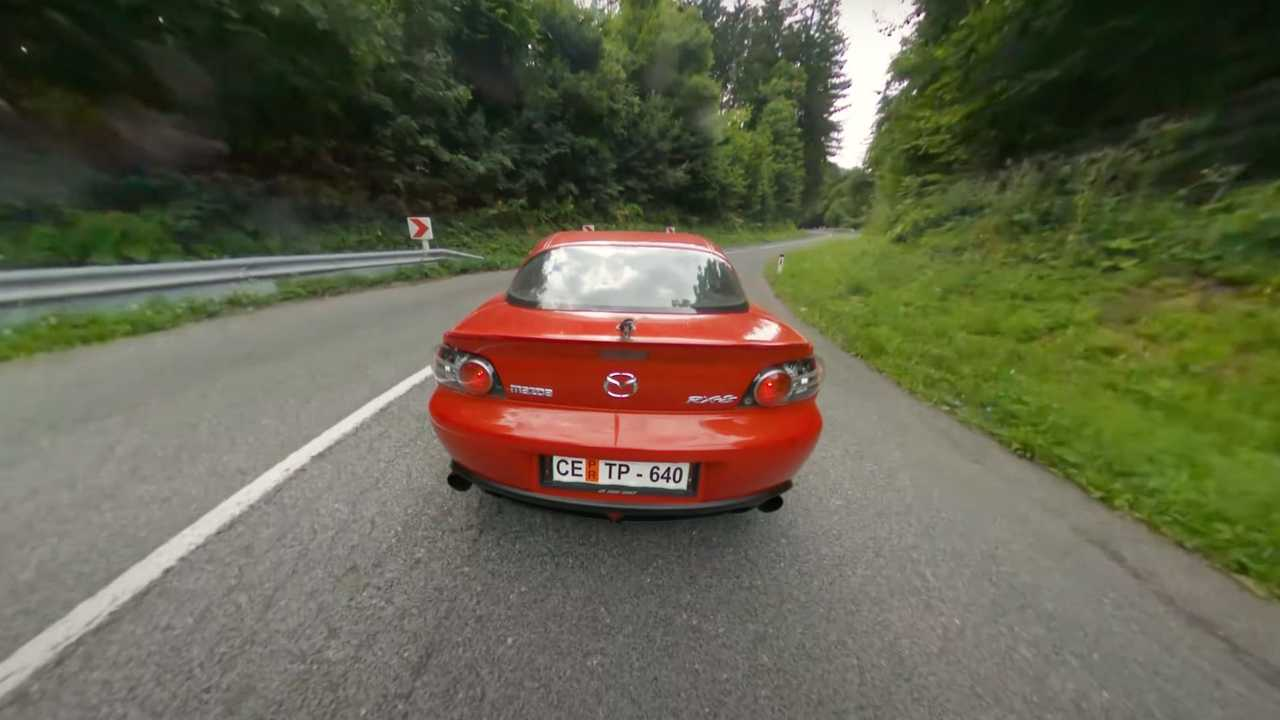 Mazda RX-8 In Third Person View