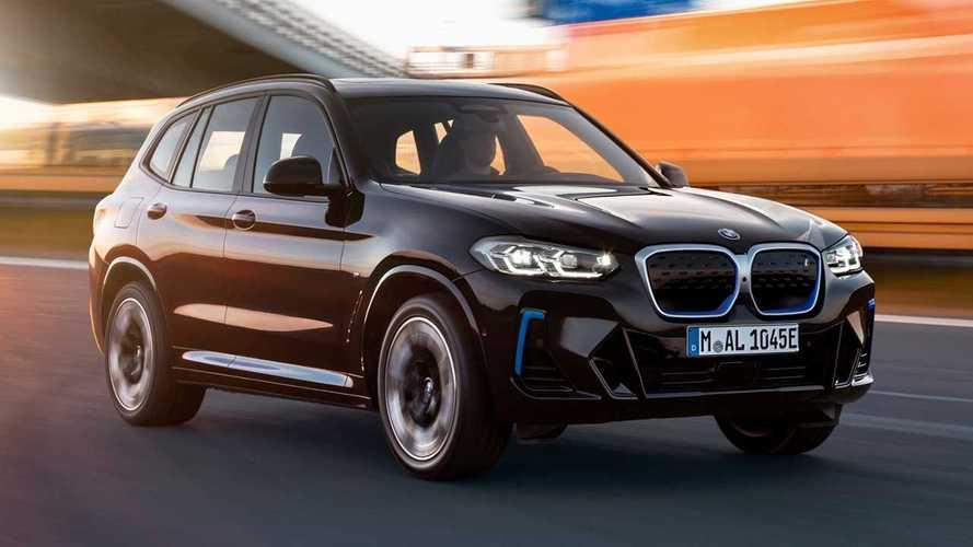 Le BMW iX3 se refait déjà une beauté pour 2022