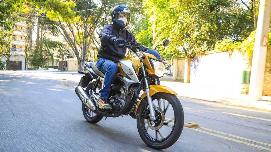 Surpresa! A Honda CG 160 não é líder no Brasil inteiro