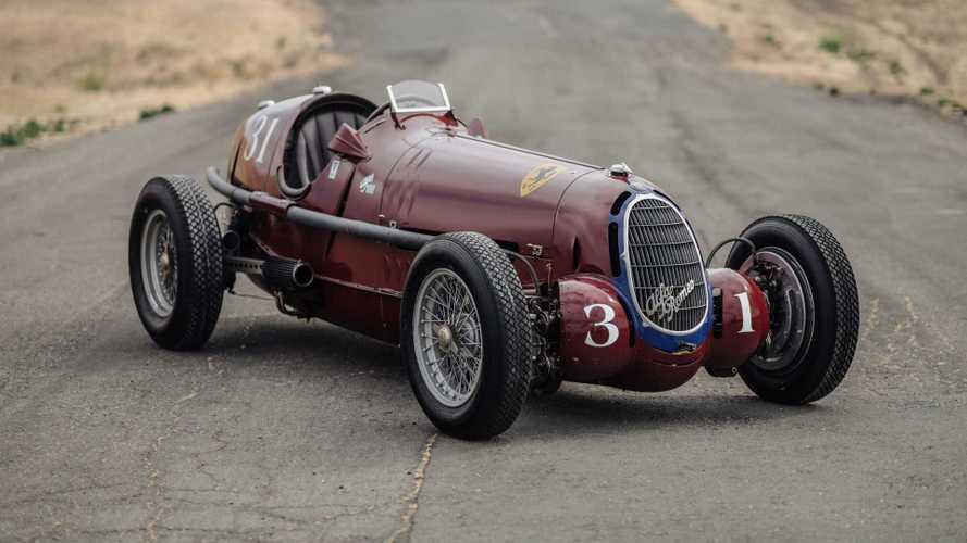 PHOTOS - Une Alfa Romeo Tipo C de 1935 entièrement restaurée
