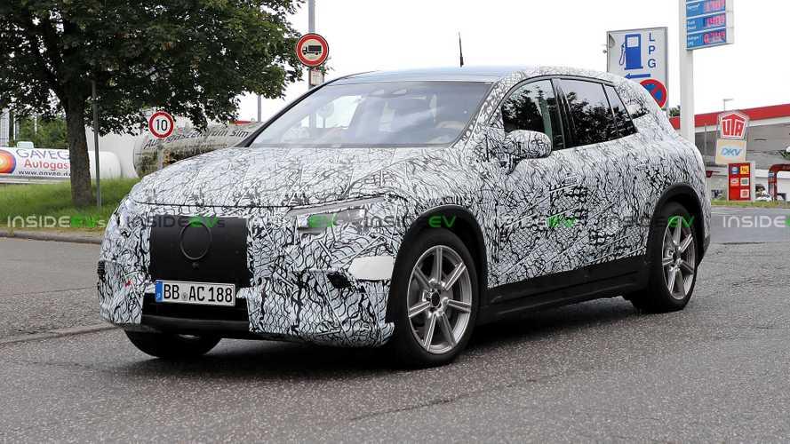 Mercedes-Benz EQS SUV Drops More Camo, Shows Production Body