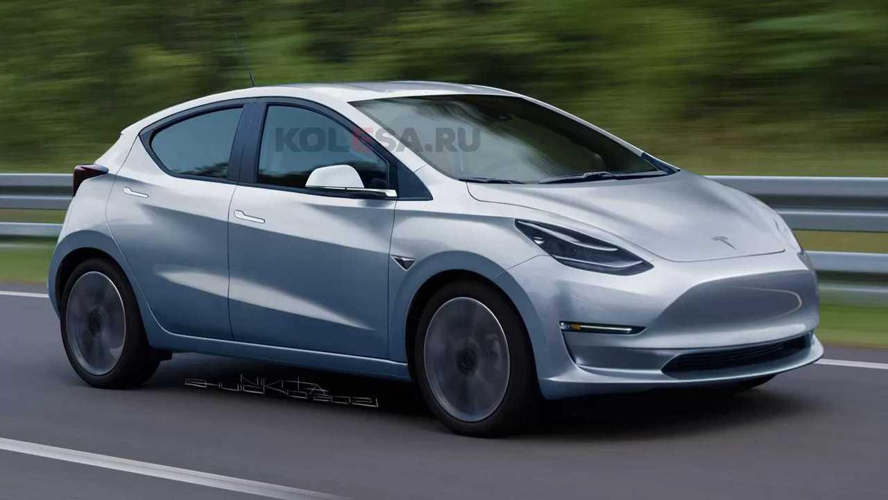Tesla Rendering Front