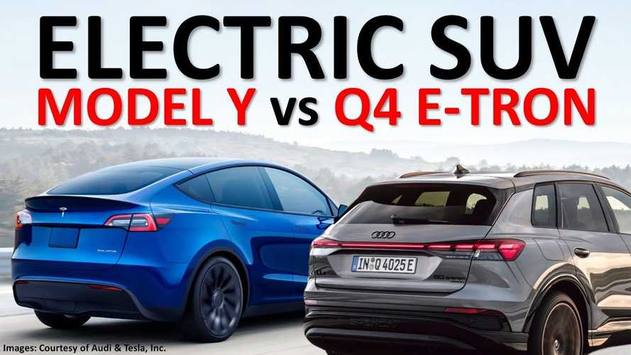 Tesla Model Y Vs Audi Q4 E-Tron: How Do They Stack Up?