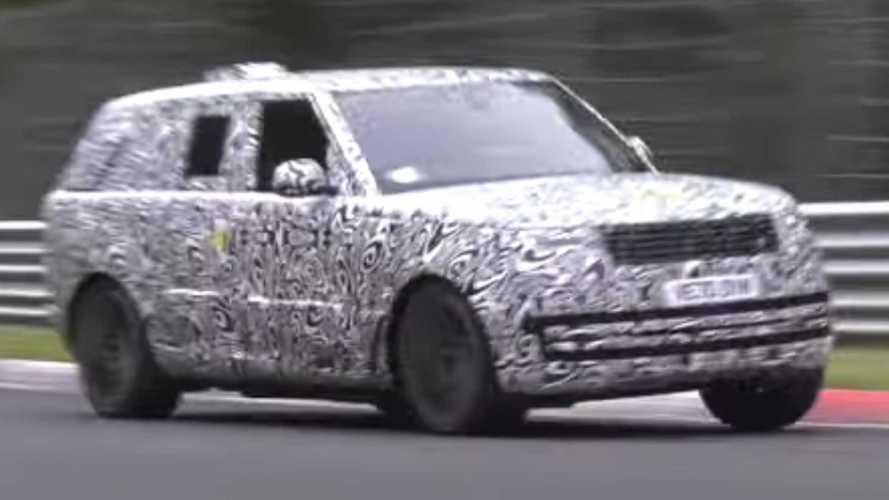 Land Rover Range Rover LWB Spied Hustling Around The Nurburgring