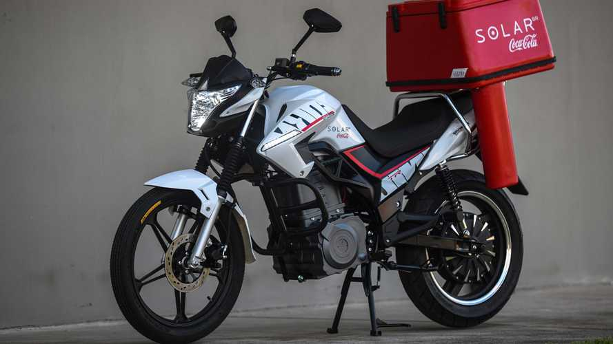 Moto elétrica da Shineray para brigar com a Voltz chega em 2022