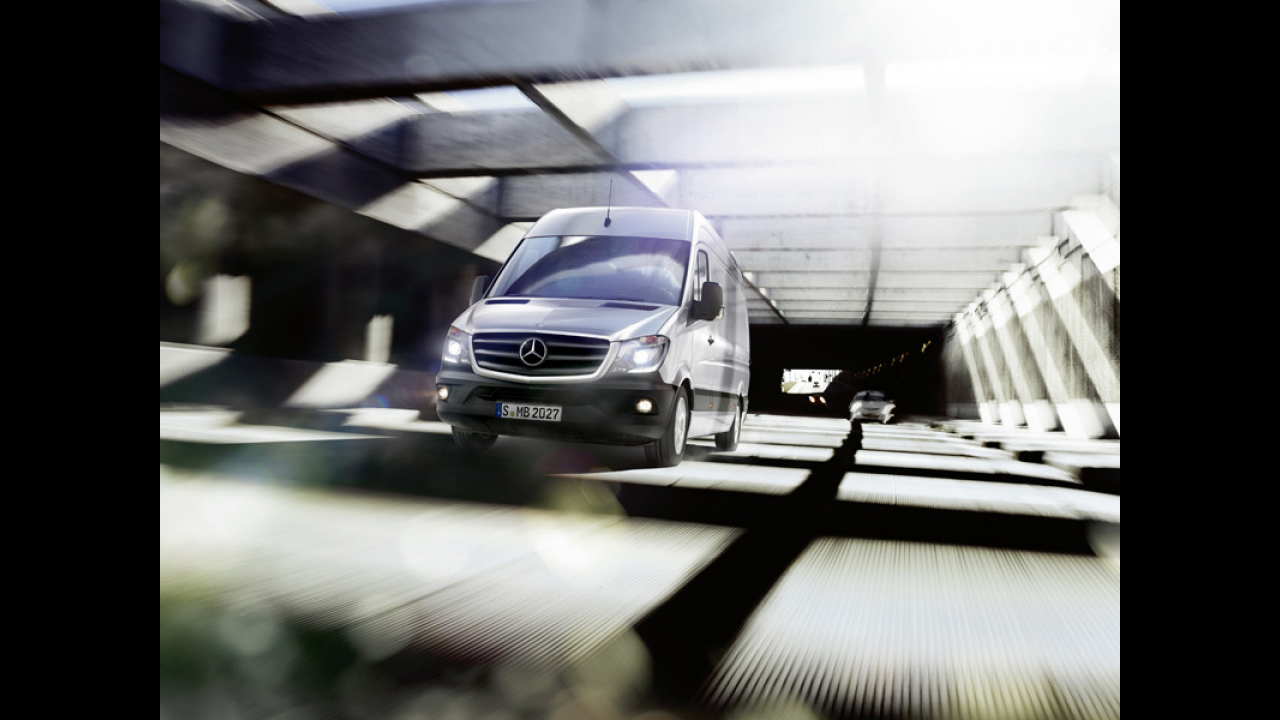New Mercedes Sprinter