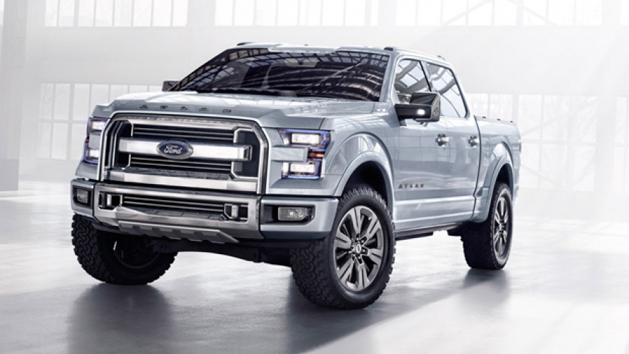 Ford Atlas, il pick-up del futuro
