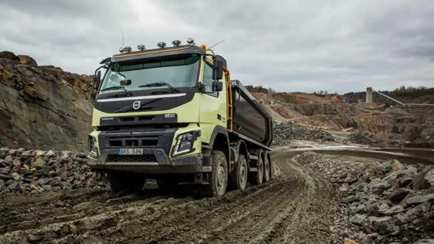Volvo FMX, il 4x4 è automatico