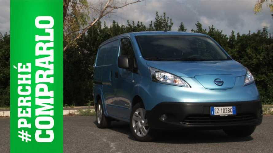 Nissan e-NV200 | Perché comprarlo... e perché no