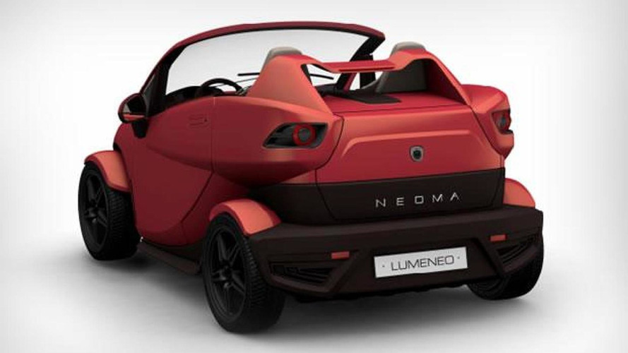 Lumeneo Neoma Roadster bound for Paris