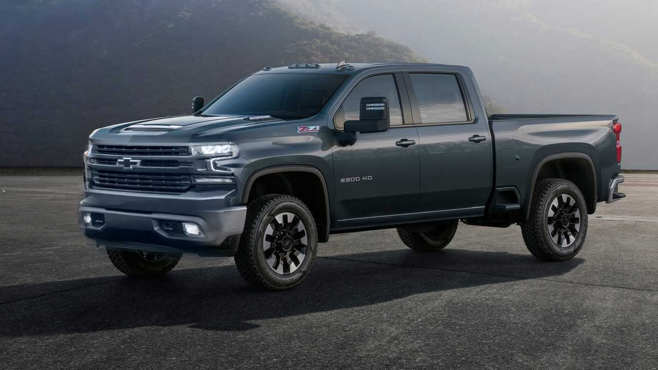 2020 Silverado HD Fan Render