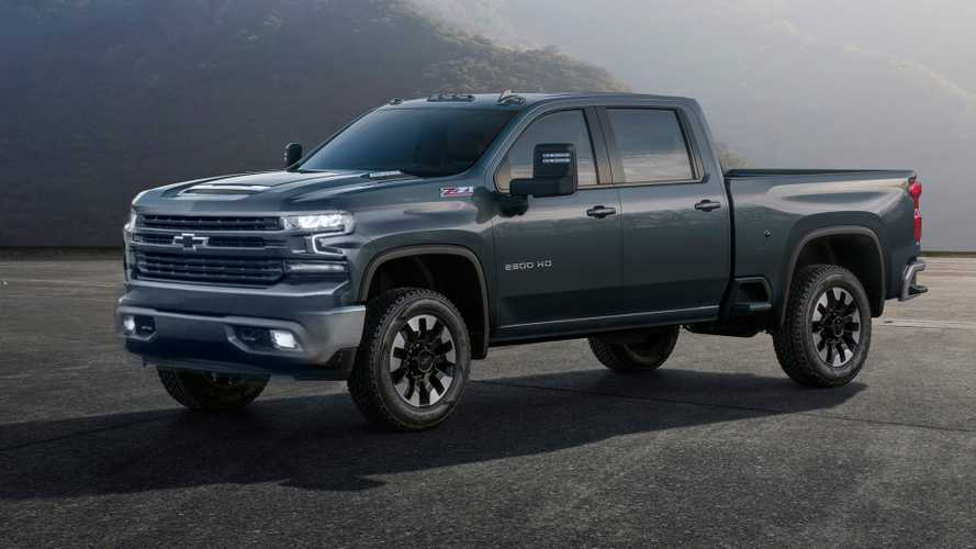 2020 Chevrolet Silverado HD Fan Renders