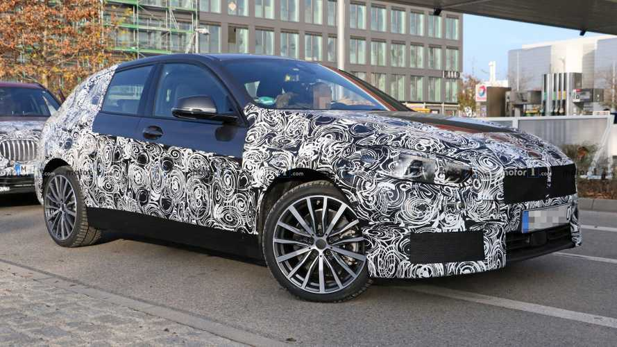 2019 BMW 1 Series Spotted With Less Camo Than Ever Before