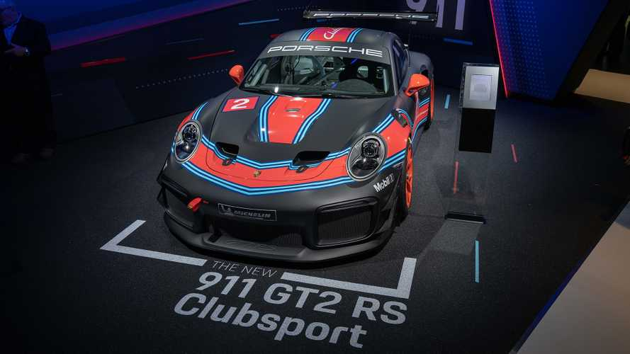 Porsche 911 GT2 RS Clubsport Makes Surprise Appearance In LA [UPDATE]