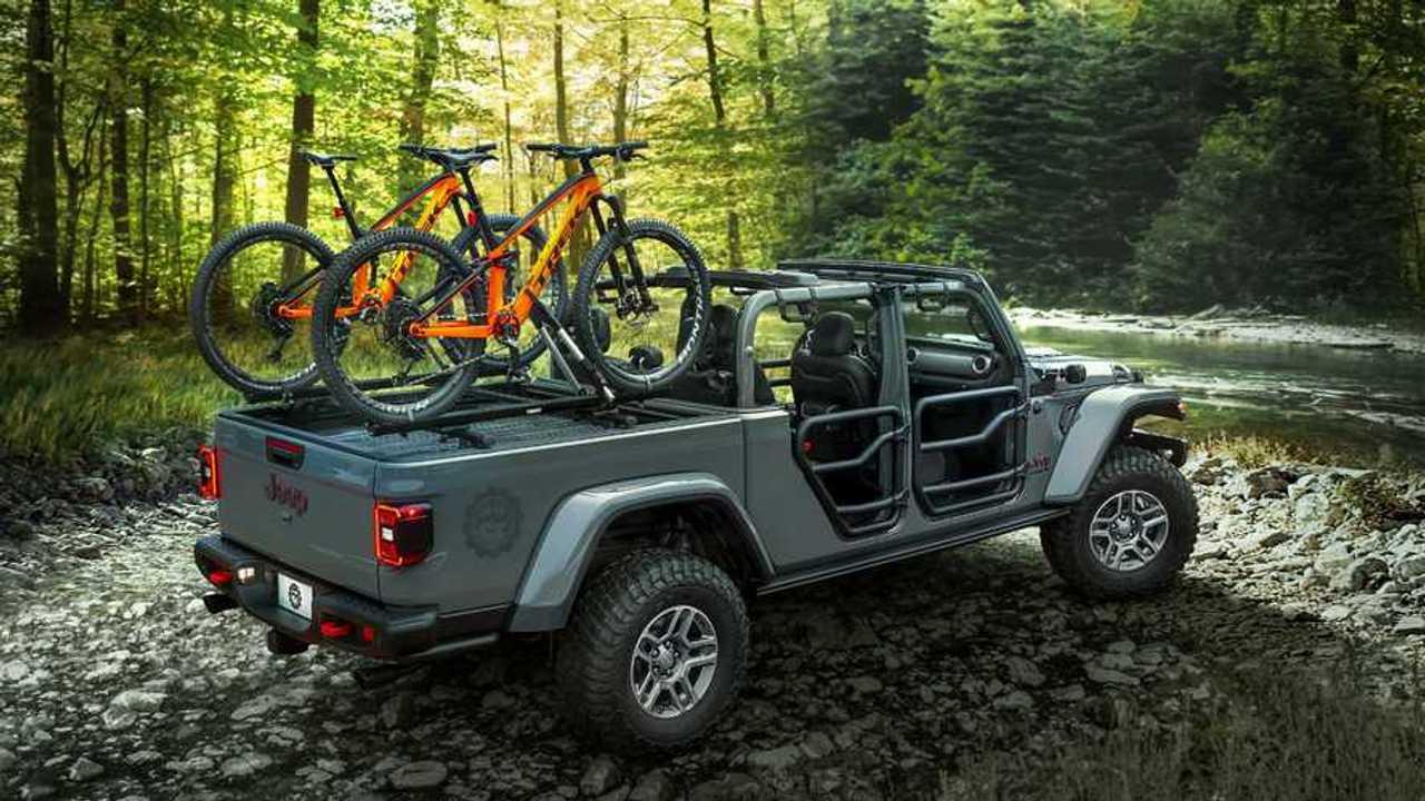 Jeep Gladiator With Mopar Accessories