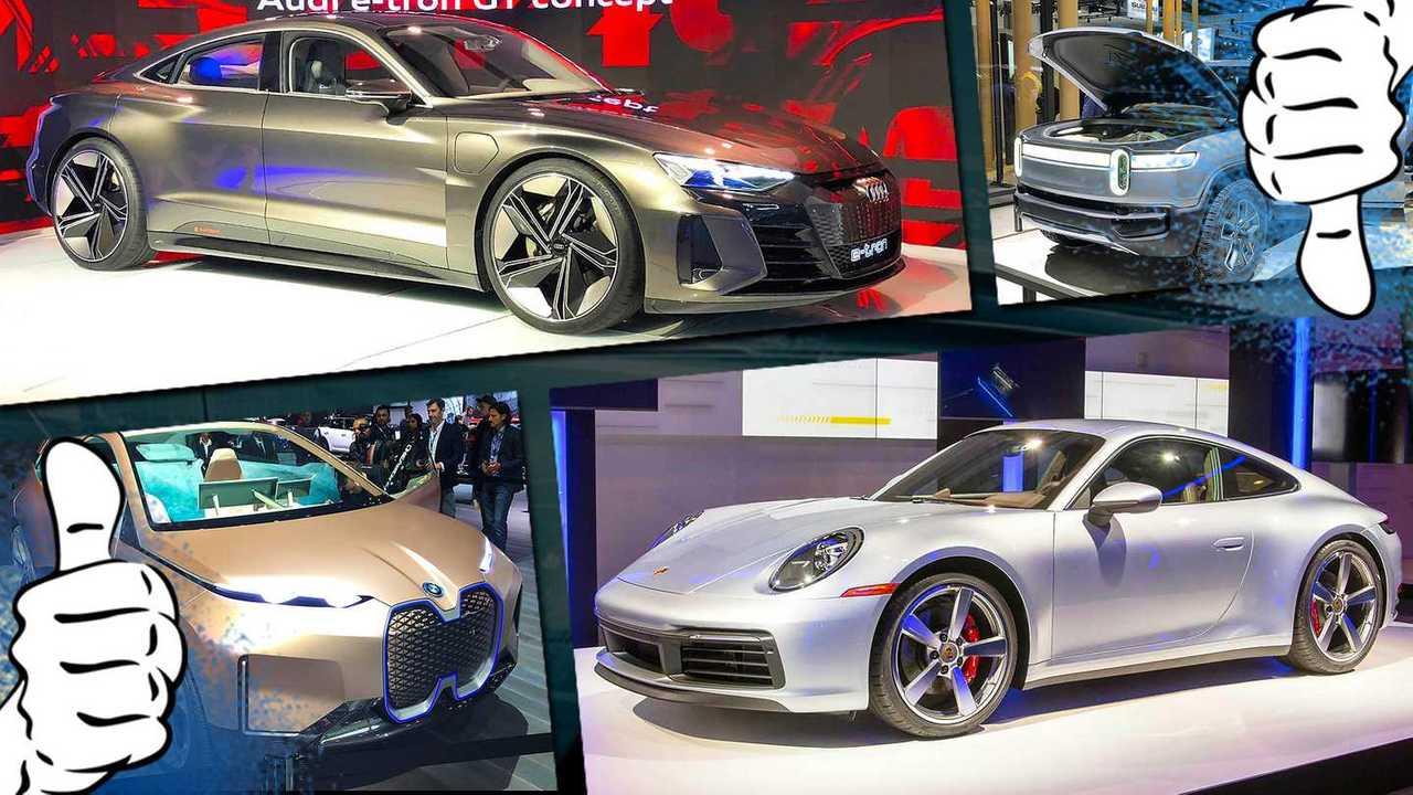 Los Angeles Autoshow 2018 Tops Flops