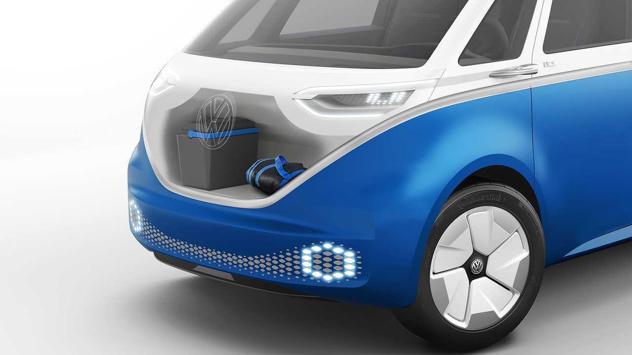 Volkswagen I.D. BUZZ CARGO Concept 2019