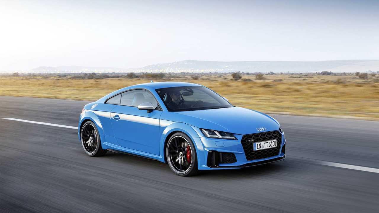 4. Audi TT: 1,289 units