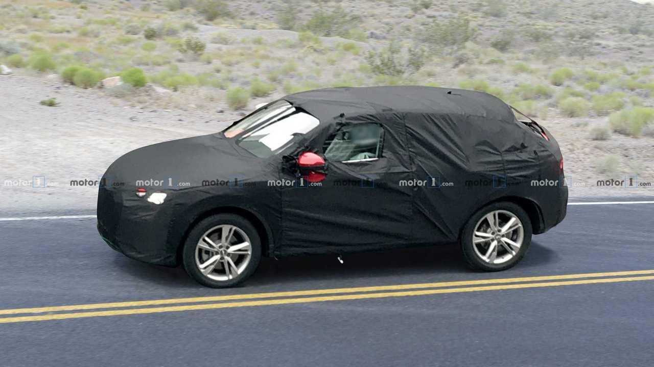 2020 Audi Q4 spy photo