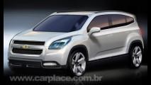 Chevrolet Orlando Concept - Protótipo será apresentado no Salão de Paris