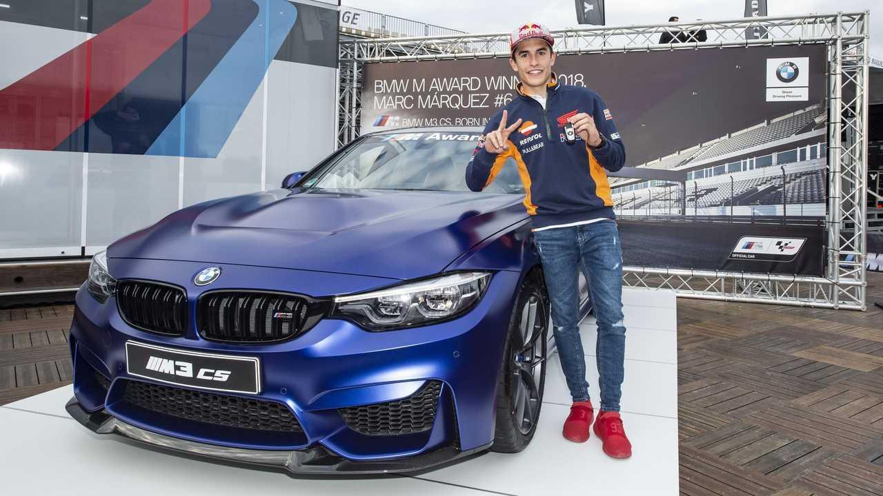 Marc Marquez wins BMW M3 CS
