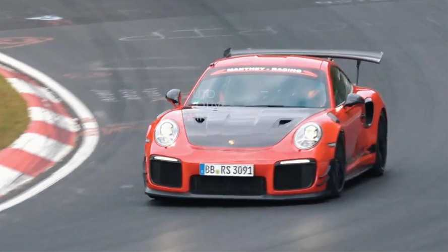Porsche 911 GT2 RS MR Spied During Return To Nürburgring
