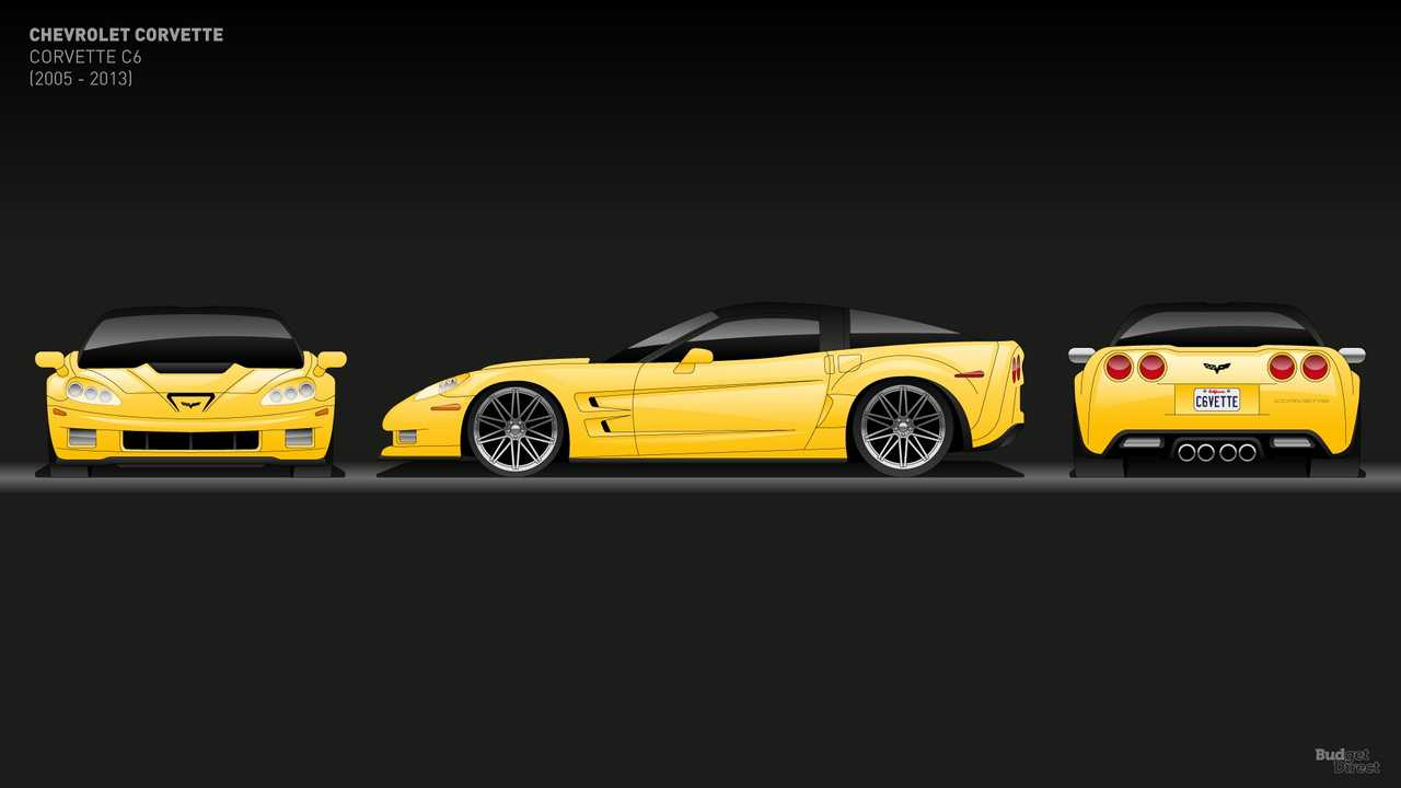 Chevy Corvette C6 (2005 - 2013)