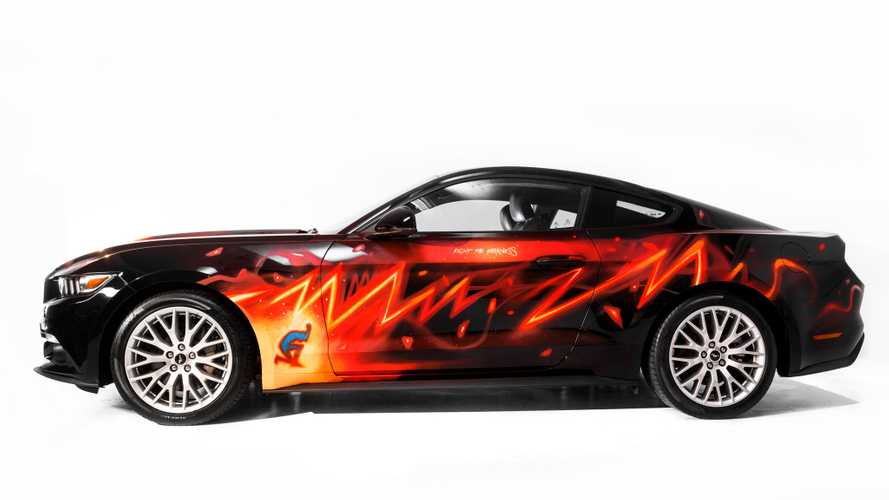 Damaged Ford Mustang Gets Reborn As A … Comic Strip?
