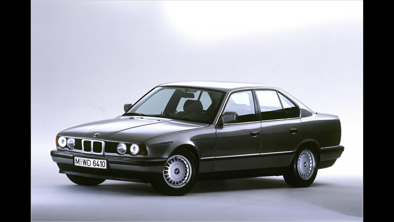 25 Jahre BMW 5er-Reihe (E34)