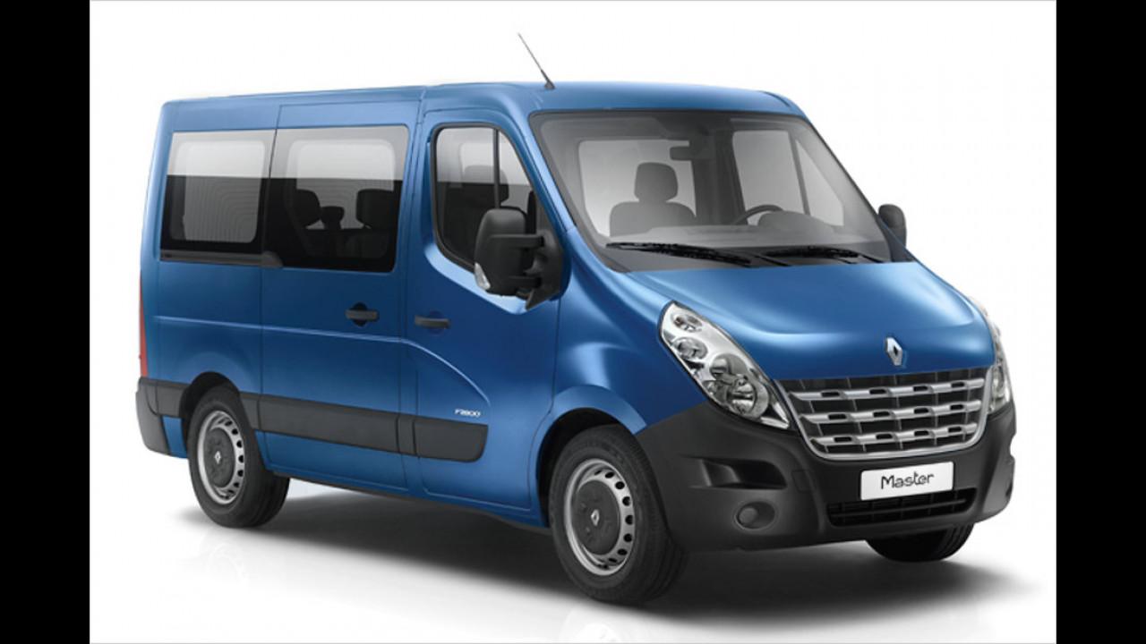 Transporter, 0 bis 50.000 Kilometer: Renault Master (2010)