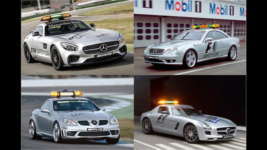 Das sind die Safety-Cars der Formel 1