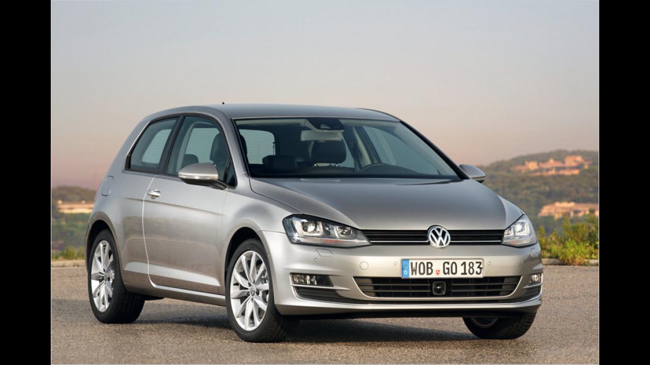 VW: 1,8-Liter-Vierzylinder-Turbobenziner (VW Golf)