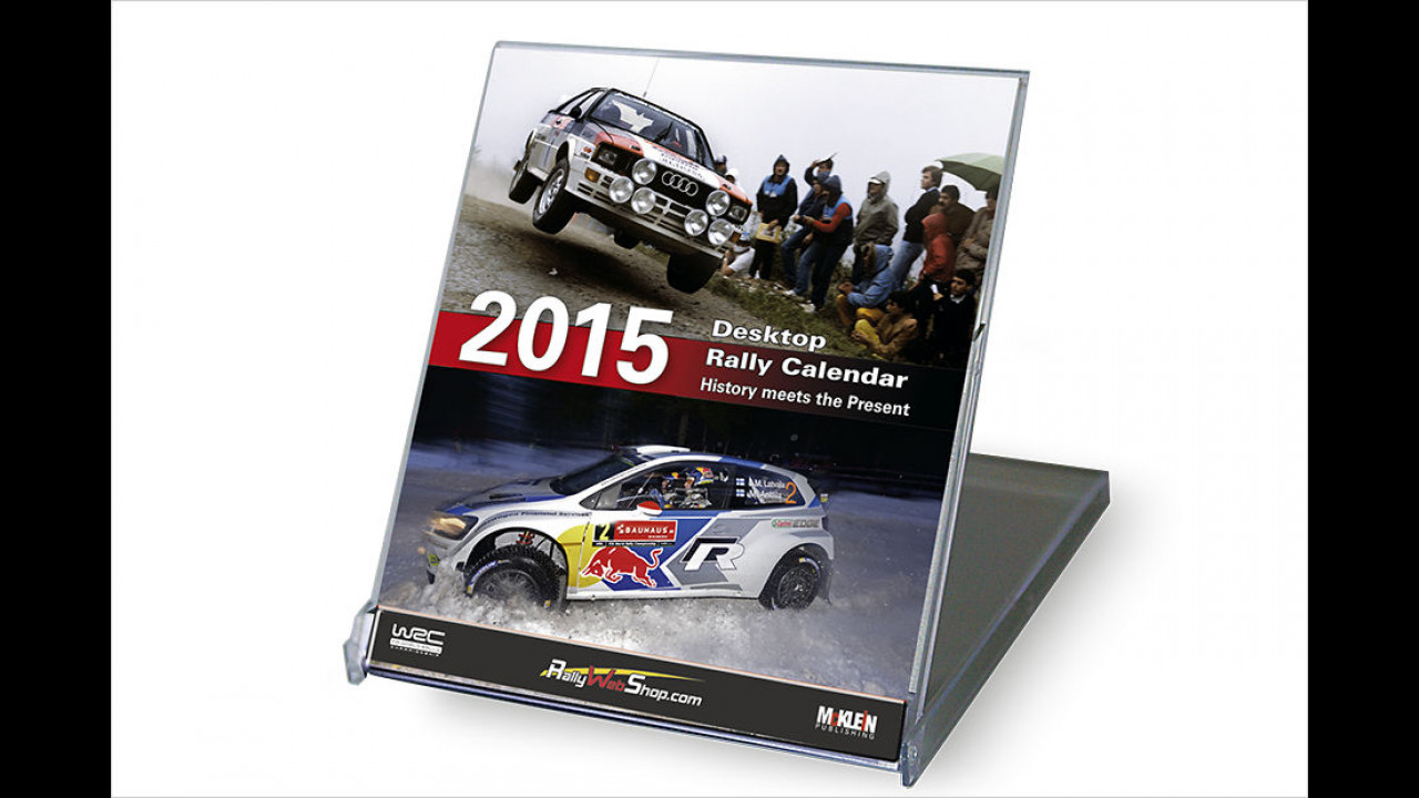 Desktop Rally Calendar 2015