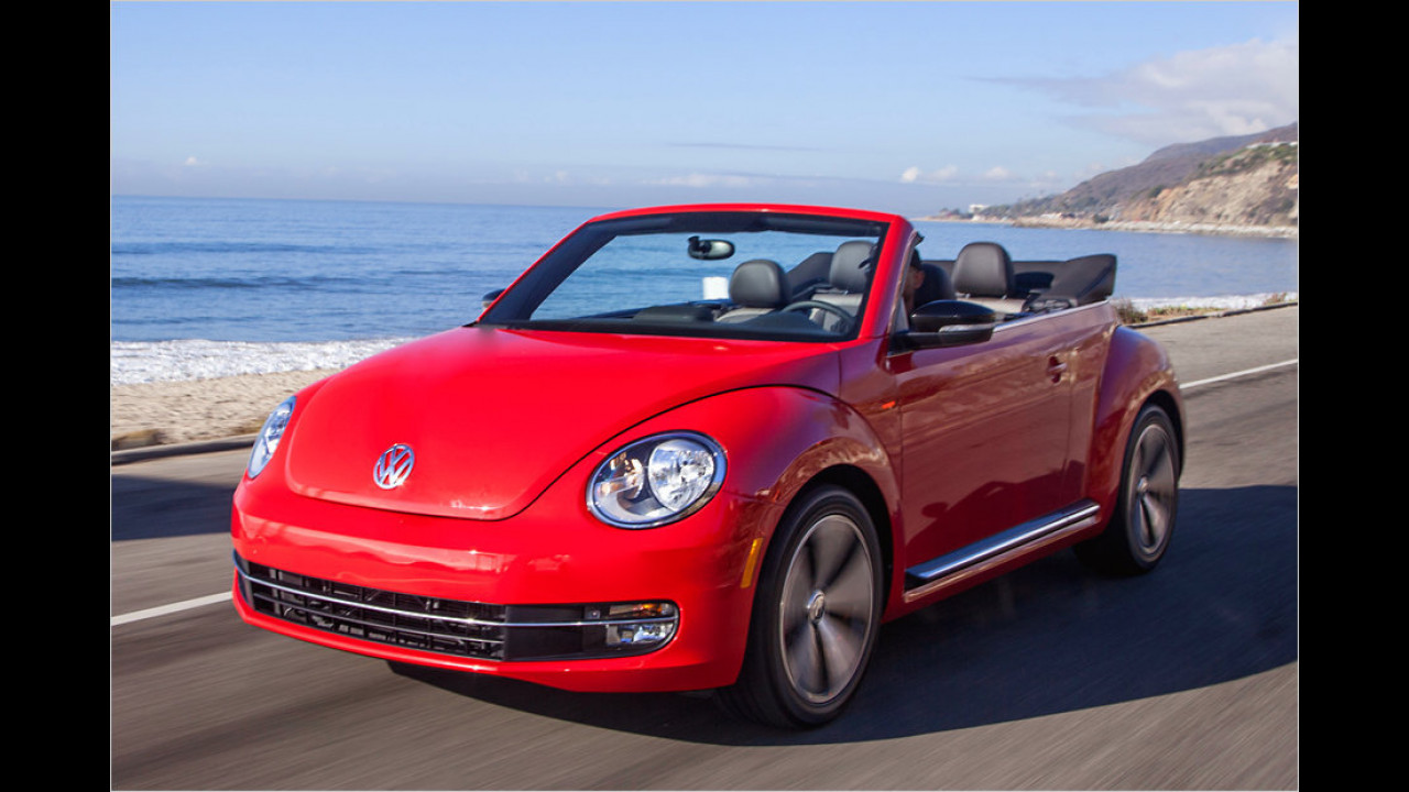 Top: VW Beetle Cabrio