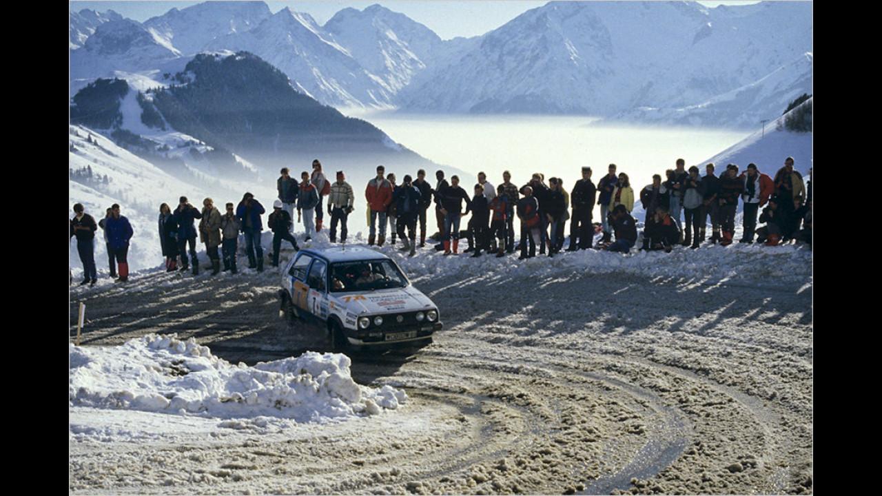 Der Vorreiter für den Polo WRC: VW in der Rallye-WM