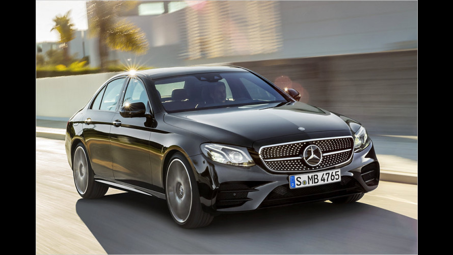 Mercedes-AMG E 43 4Matic: Raketen-Stufe